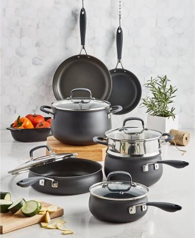 Belgique Hard Anodized 11 Piece Cookware Set