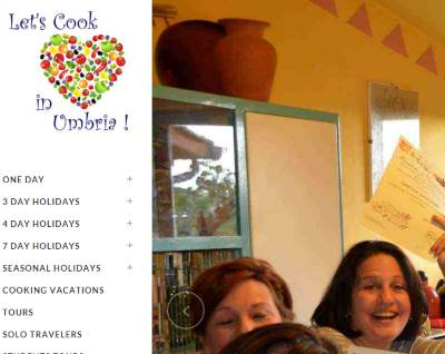 cook in umbria homepage