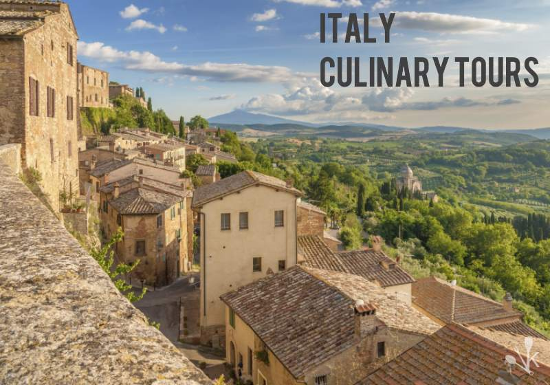 Culinary Tour Of Italy in Montepulciano