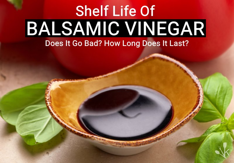 does balsamic vinegar go bad