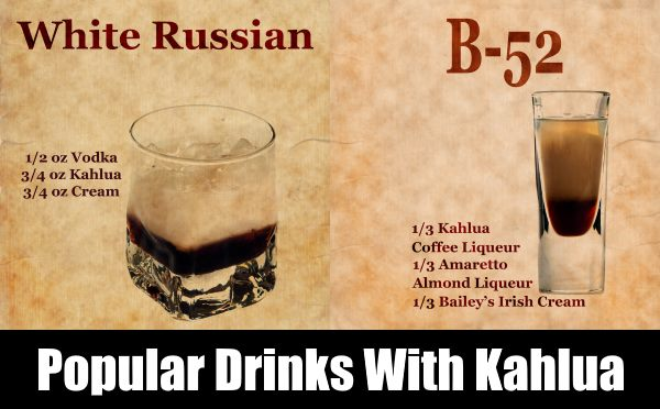 Drinks That Can Be Made In A Bar With Kahlua