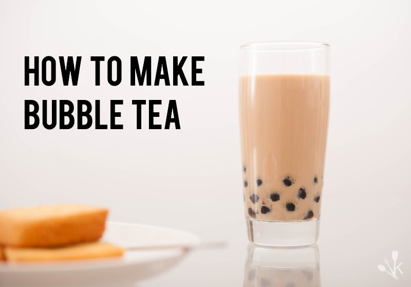 how to cook starch balls for bubble tea