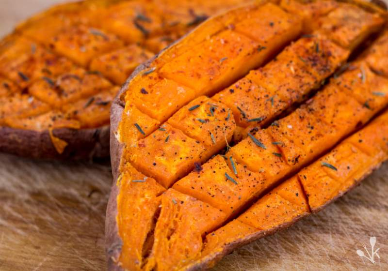 How To Cook A Sweet Potato In The Microwave | KitchenSanity