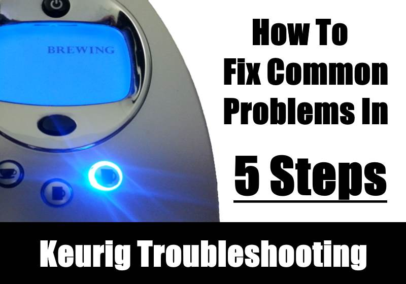 Keurig Coffee Maker Problems No Water : Common Keurig Coffee Maker Problems KitchenSanity