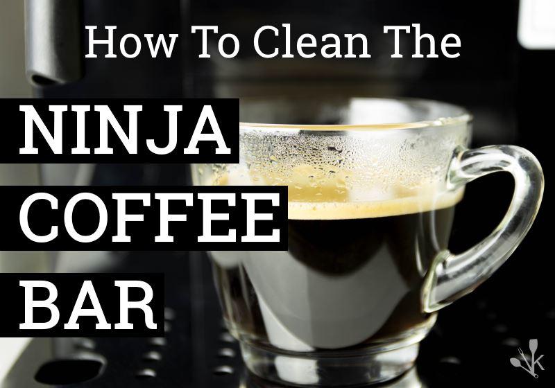 how to clean ninja coffee maker