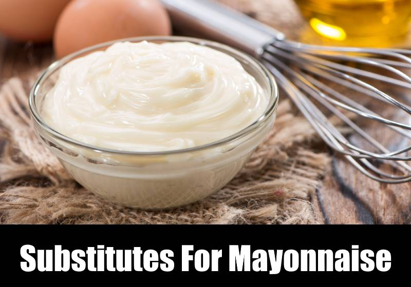 Substitute For Mayonnaise