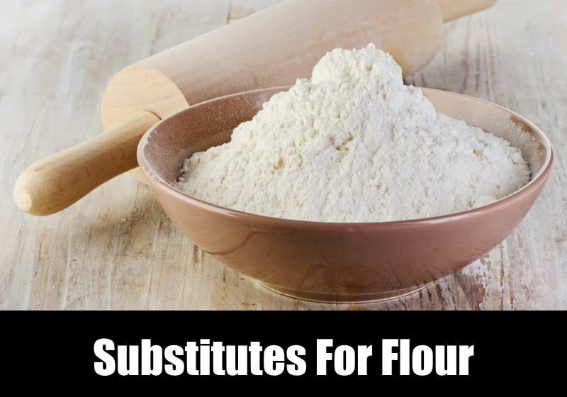 substitutes for flour