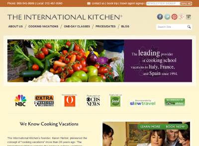 the international kitchen homepage